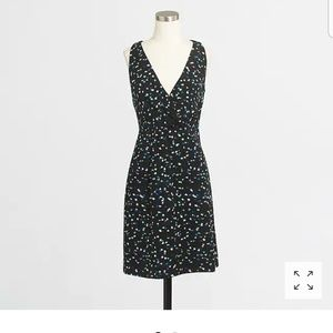 J.Crew Wrapfront Dress in Painted Dots